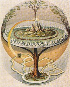 Yggdrasil, the World Tree of Nordic myth